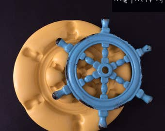 Large Boat Steering Wheel Silicone Mold