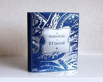 H. P. Lovecraft Book Bag  Leather Book Purse