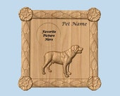 Portrait of your Dog Wood...