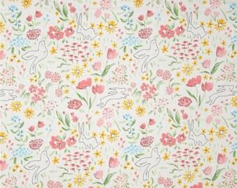 Michael Miller Sommer Pink Garden Bloom Fabric