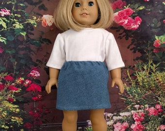 SALE! 18 Inch Doll Skirt and T-shirt