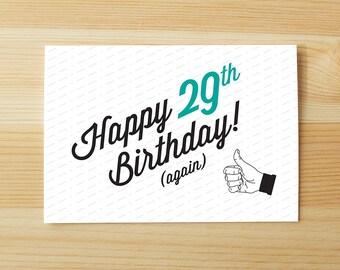 Happy 29th (Again)