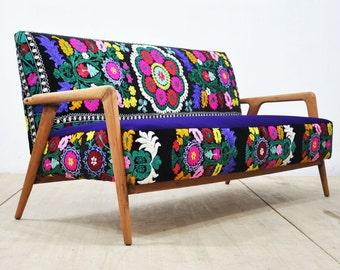 Vintage Sofa - violet