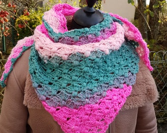 winter shawlette