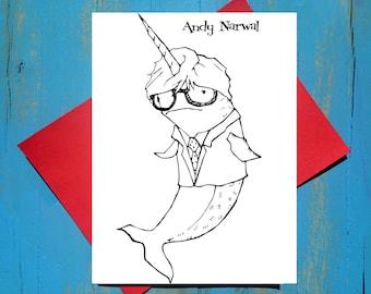 Andy Narwal greeting card