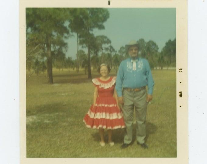 Vintage Snapshot Photos: Western Wear, 1970 [86696]