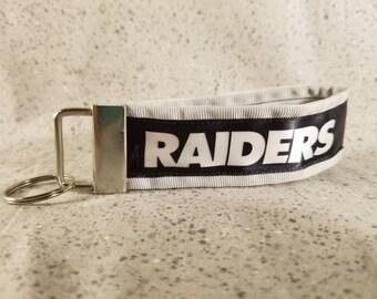 Raiders Ribbon Keychain