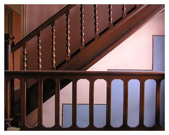 Fine art photography, classic rustic decor, Staircase, Home Decor, Wall decor