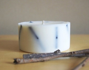 Twigs Soy Wax Pillar Candle (Small)