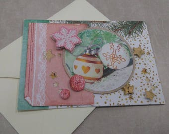 3D 873 hand made greeting card