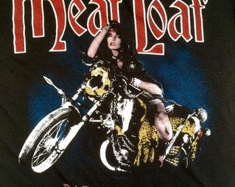 Original Meat Loaf 1984/85 Bad Attitude Tour t shirt