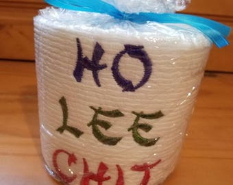 Ho Lee Embroidered Toilet Paper