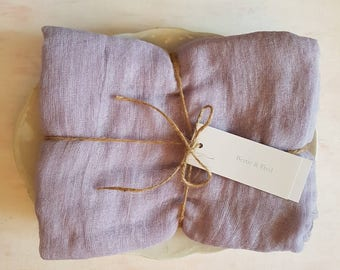 Lavender Cheesecloth