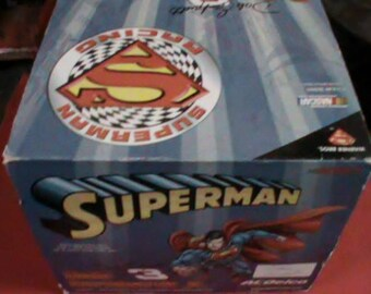 Dale Earnhardt Jr Action RCCA Superman DC comics collectable 1/3 scale Nascar helmet
