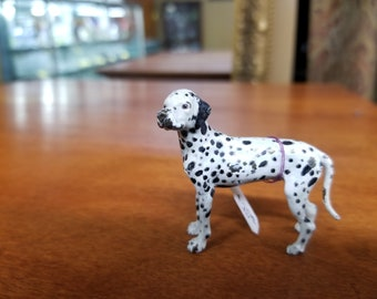 Dalmatian dog statue made of brass