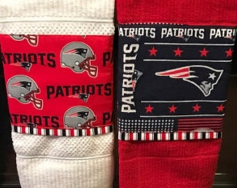New England Patriots bar or kitchen towel