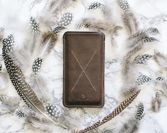 iPhone Sleeve, iPhone Leather Sleeve, Iphone 7 Plus Case, iPhone Case 7 plus, Leather Sleeve, iPhone 7 Plus Sleeve, Leather Gift