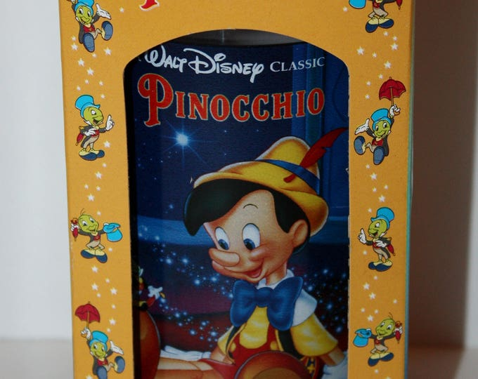 Walt Disney PINOCCHIO Burger King Collector Series Glass 1994