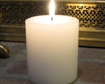 3 1/2 inch Pillar Candle - your choice of scent