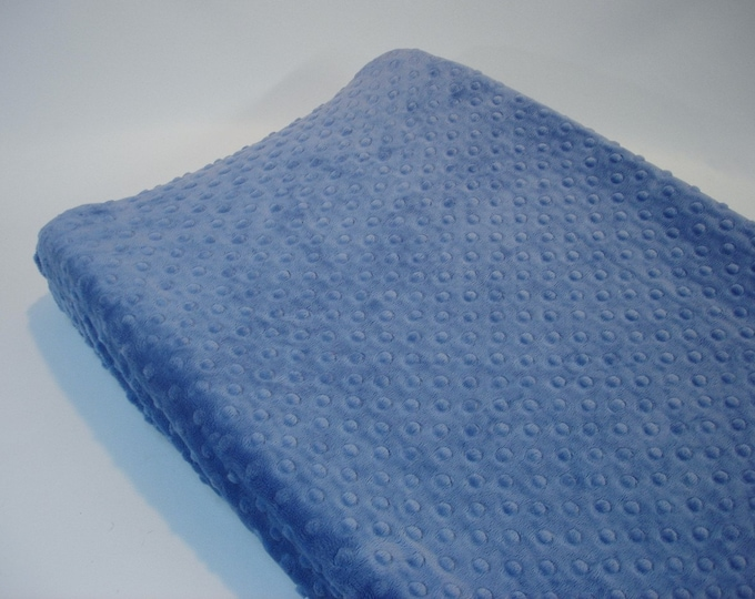 Blue Jean Changing Pad Cover Denim