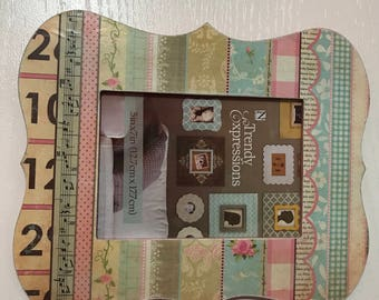 5x7 wooden picture frame