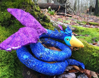 Occamy Toy, Magical Creature Toy, Plush, Magical Beast