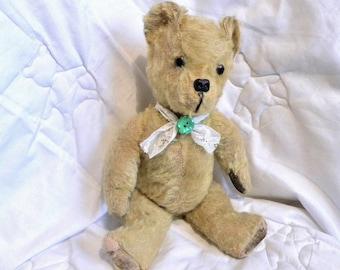 "1950's Pedigree Bear - 15"" Vintage Mohair Bear - 1950's Toy - English Teddy - 15"" Bear"