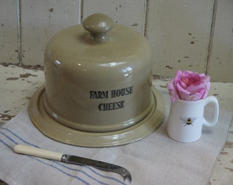 Vintage farmhouse cheese dome