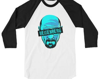 Breaking Bad Heisenberg 3/4 sleeve shirt, Breaking Bad t-shirt, Heisenberg shirt, Walter White shirt