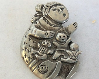 Vintage Nataive American Pin