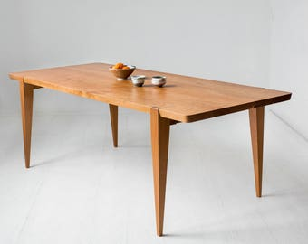 "96"" American cherry Oslo Dining Table"