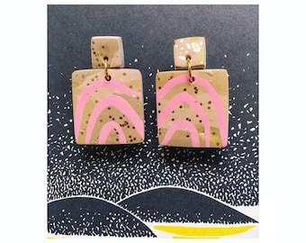 Unique onling polymer clay earrings