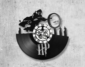 Vinyl 33 clock towers Locomotive theme