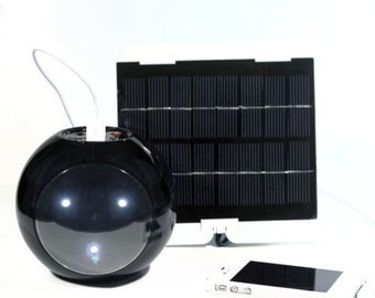 Pharox Solar Panel Kit Solar Lighting and Charging in One Unit - New