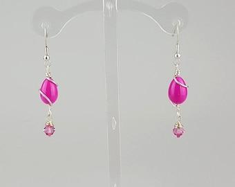 Pretty n Pink Earrings