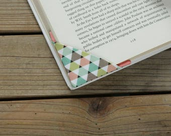 2 corner bookmarks - Triangles