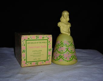 Avon American Belle girl perfume bottle decanter.vintage