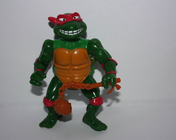 Teenage Mutant Ninja Turtles TMNT BREAKFIGHTIN RAFAEL Action Figure 1989