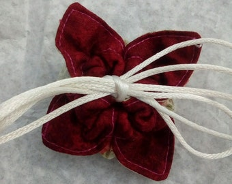 Handmade Small Lovely Fabric Gift Pouch Jewlery Bag Treasure Bag