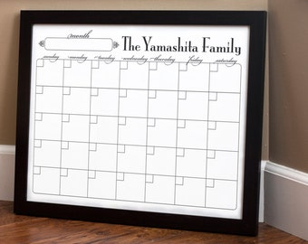 Print Your Own - Family Calendar - Style 1.4