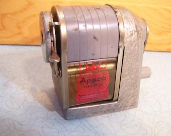 Vintage Apsco Premiere 50 pencil sharpener