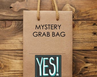 Mystery Bag, Grab Bag, Keychain Surprise, Gifts Under 10, Mystery Listing, Second Quality Items, Slightly Imperfect
