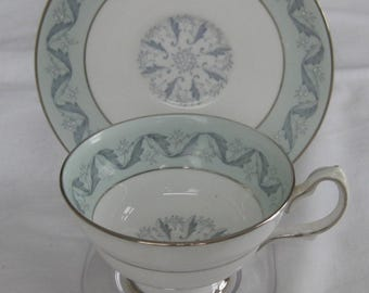 GROSVENOR LUCERNE Cup and Saucer, Made in England c1950's
