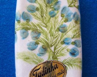 "Vintage 70's ""PORTUGUESE HANKIE"" Ladies Handkerchief Hand Painted by Fadinha"