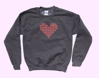 Heart Full of Labradoodle Love - Dog Crewneck Sweater