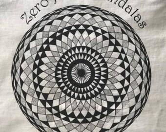 Zero point mandalas shirt torus flower