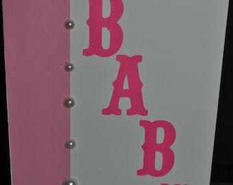 Baby Girl Congrats card!