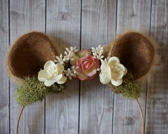Bear/Lion Ear Woodland Headband