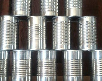 12 Empty Tomato Paste Cans For Crafting