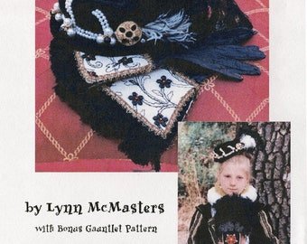 Women's and Young Ladies' Elizabethan Italian Bonnet & Gauntlet Sewing Pattern by Lynn McMasters # 5